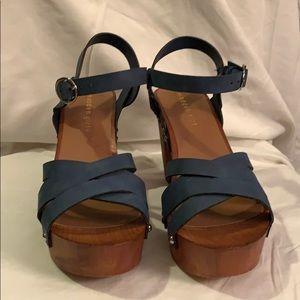 Madden Girl Blue Sandal